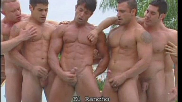 Gay Group Sex At The Rancho