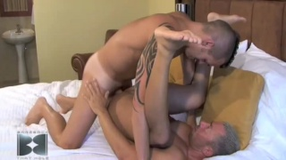 Dominik ass licked, tongued, stretched and tasted