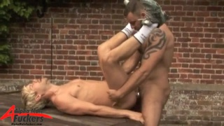 fucks Braxton's hungry hole hard and fast