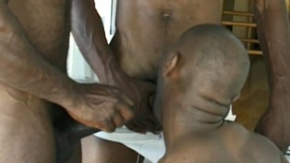 Black Stud Threesome