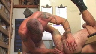pierced and tattooed guys fuck raw