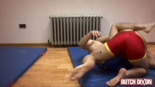 Wrestling, Spanking and Spandex