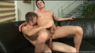 College Buddies Carter and Brody fuck each other