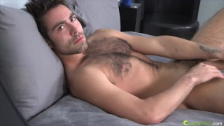 Rugged and hairy sexy young stud