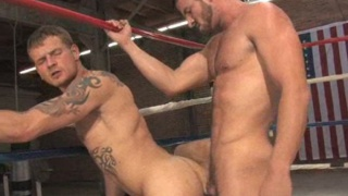 Rusty and Trent boxing fuck