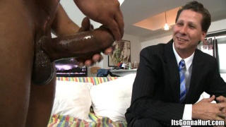 Wade plays the pain game with huge cock