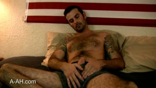 Hairy Tatooed Rough Marine naked