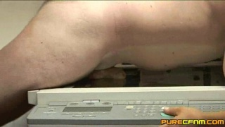 Photocopying his cock