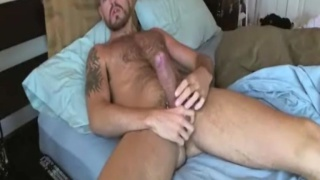 Hot Stud Stroking 9 Inches