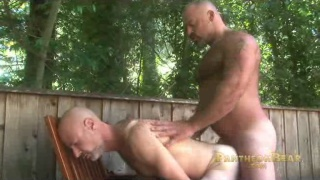 Muscle Bear Bronson Gates Pounding Butt