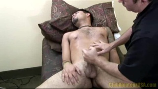 Xio Blows His Creamy Load