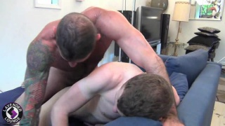 Hairy Daddy and Smooth Boy