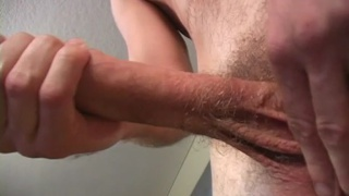 Hung Surfer's First JO Video