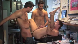 Mason Star, Tommy Defendi &  Phenix Saint 3-Way