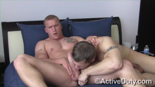 Kaden and Big Strapping Stud Nick Tower