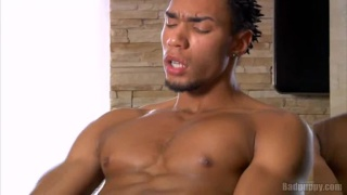 Erick squirts his load