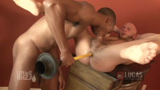 Black Stud Sean Xavier and Sexy Wolf Drake Jaden