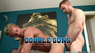 James Jamesson & Cameron Foster in  Double Guns