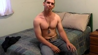 Army Boy's First JO Video