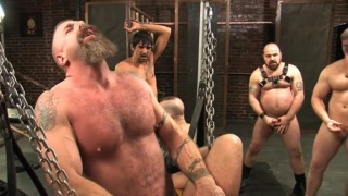 Hairy Man Gang Banged