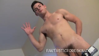 Jake Lyons Hot Foreskin Play