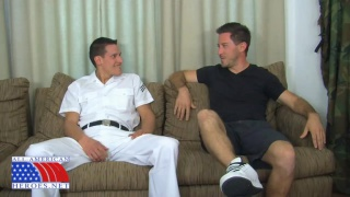 PETTY OFFICER EDDY AND LIFEGUARD MARK
