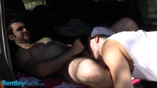 Aussie Muscle outdoors