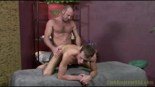 Kyle Quinn Fucked on Massage Table
