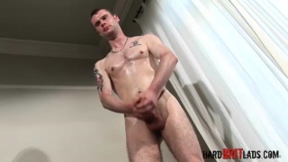Tall Fit Bisexual Lad with Thick Cock