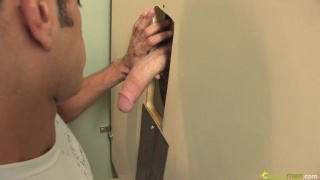 Barett and Tris gloryhole action