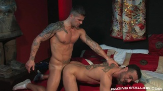 Addicted - Scene 3 - Goran, Massimo Blade & Francesco D'Macho