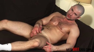 Hard Hairy Muscled Skinhead