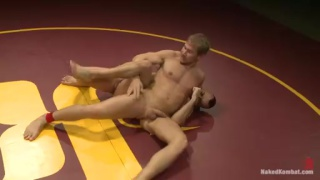 Alex Adams vs Jessie Colter Naked Wrestling