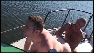 Fisting Threesome on a Boat