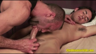 Evan Tanner Gets Blowjob