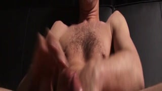 Hung Man in Socks Jacking Off