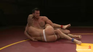 Casey More vs Rod Daily Naked Wrestling