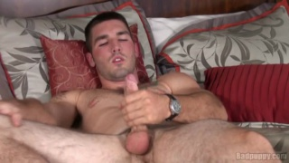 Brad Campbell Jacking Off