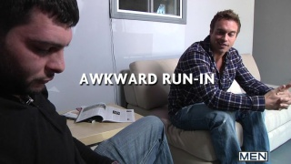 Rocco Reed & Tony Paradise in Awkward Run In