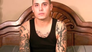 Tattooed Guys 1st Gay Blowjob