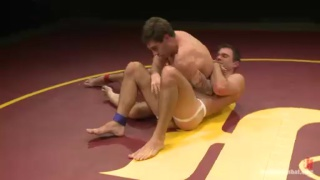 Naked Oil Wrestling - Cameron Kincade vs Vance Crawford