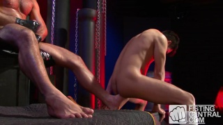 Barefoot and Fisted with Leo Forte and Ben Reyes