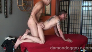 Damon Dogg's Massage Fuck