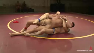 Naked Wrestling - Chad Brock vs Morgan Black
