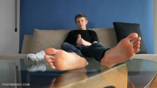 Jay Jonas Bare Foot Jack Off