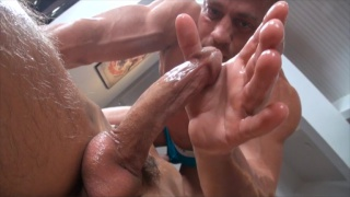 Hot Twink Gets Oiled and Pounded