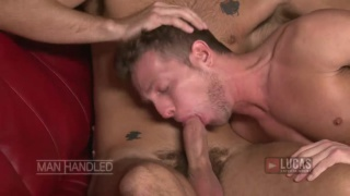 PRESTON STEEL TAKES HAYDEN COLBY'S UNCUT DICK