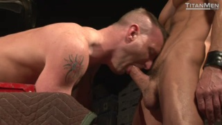 Scene 1 of In Deep featuring: Christopher Daniels , David Anthony and Tibor Wolfe