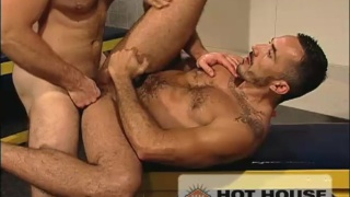 American wrestler rough fuck
