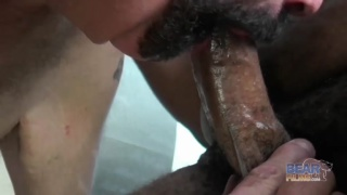 Bear interracial old on younger fucking